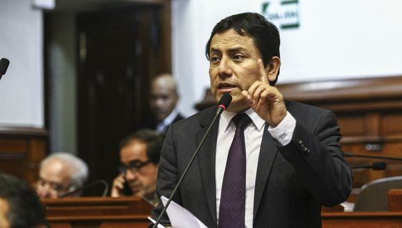 Rodríguez dijo que el acuerdo de la bancada fue acatar la decisión del plenario; es decir, votar por la vacancia de Kuczynski. (Foto: Congreso de la República)
