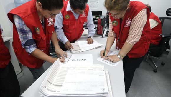La resolución del Jurado Electoral Especial (JEE) fue publicada este sábado 9 de enero (Foto: Andina)