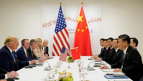 Las conversaciones comerciales entre Estados Unidos y China avanzaban bien. (Foto: Reuters)