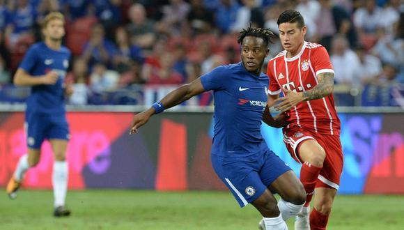 Bayern Múnich se impone 3-2 ante el Chelsea en Singapur. La figura del encuentro es el alemán Thomas Muller, quien concretó un doblete. (Foto: AFP)