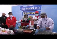 Perú celebró Día Mundial de la Alimentación comiendo pescado