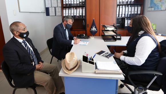 El jefe de la ONPE, Piero Corvetto, viajó a inicios de semana a Arequipa para coordinar actividades previas a las Elecciones 2021. (Foto: ONPE)