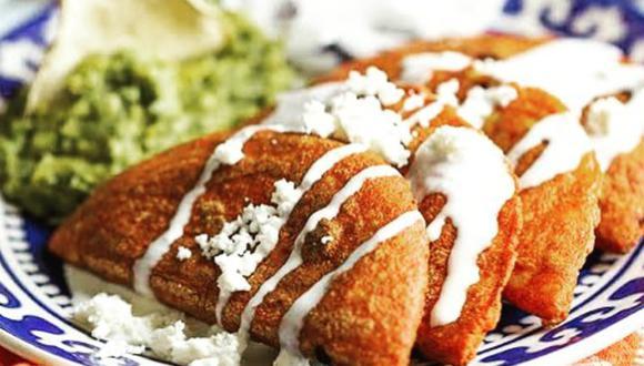 Enchiladas potosinas. (fondamexicanasat|Instagram)