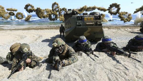 Tensión entre las Coreas por ejercicios militares en Seúl