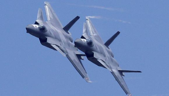 Veinticinco aviones de guerra de China sobrevuelan zona de defensa aérea de Taiwán tras advertencia de Estados Unidos. (Foto referencial, Kin Cheung / Reuters).