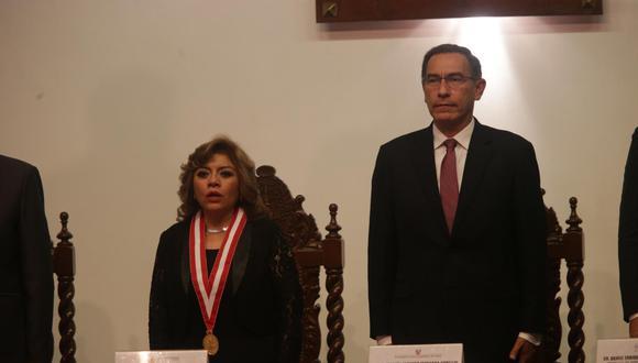 Zoraida Ávalos señaló a Martín Vizcarra que hay procesos específicos para definir conflictos de competencias entre fiscales. (Foto: GEC)