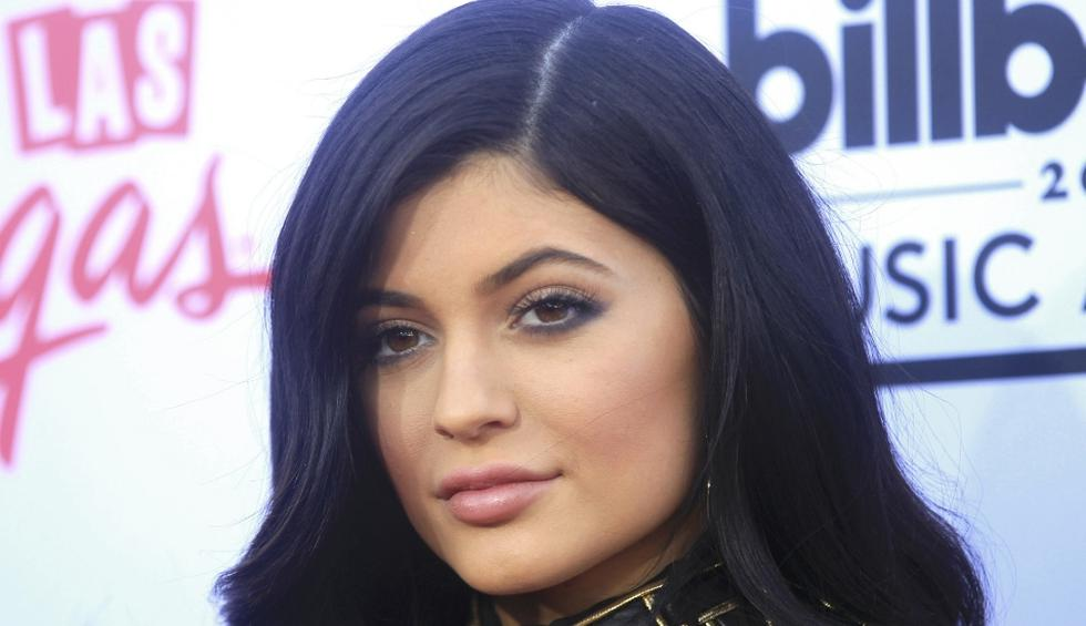 Kylie Jenner subió las imágenes a Instagram, alborotando a sus fans. (Reuters)