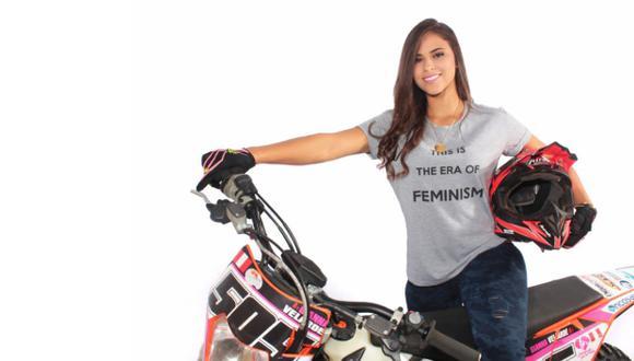 Gianna Velarde (24) es el claro ejemplo de que no existen espacios donde la mujer no pueda alcanzar el éxito.