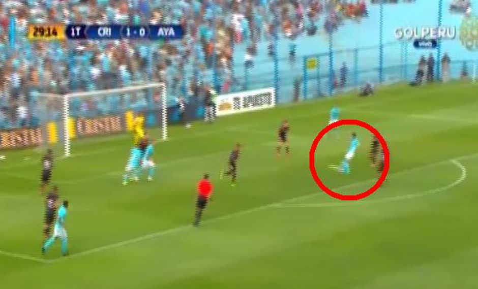 Sporting Cristal vs. Ayacucho: Lobatón anotó golaz de zurda para el 2-0 de los celestes | VIDEO. (Foto: Francisco Neyra)