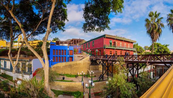 El distrito de Barranco es un lugar de visita obligada por sus diversas piezas arquitectónicas.