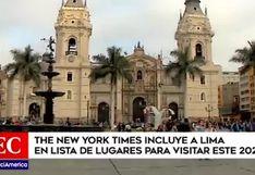 """The New York Times: """"Lima es el epicentro gastronómico de Sudamérica"""""""