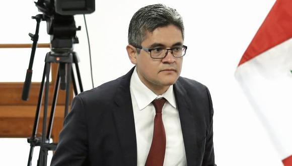 El documento elaborado por el fiscal José Domingo Pérez ya está en la Fiscalía de la Nación. (Foto: Anthony Niño de Guzmán/GEC)