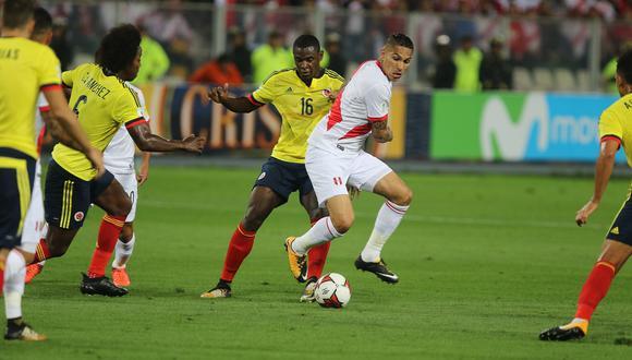 Perú vs. Colombia: día, hora y canal del partido por las Eliminatorias Qatar 2022. (GEC Archivo)