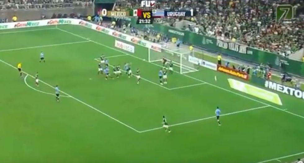 México vs. Uruguay EN VIVO: mira el gol de José María Giménez para el 1-0 | VIDEO