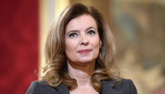 La primera dama francesa sale del hospital