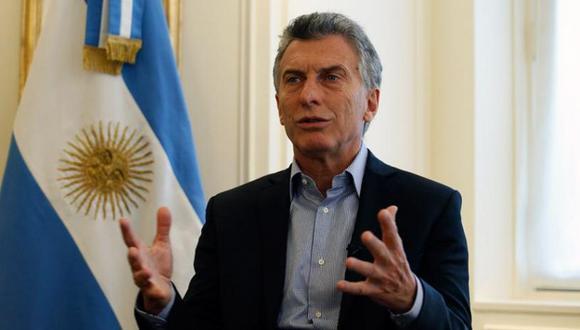 """""""Para mí no cabe ninguna duda: en Venezuela se violan sistemáticamente los derechos humanos atropellando a la oposición y a todos"""", afirmó Mauricio Macri, en una entrevista con CNN. (Foto: AFP)"""