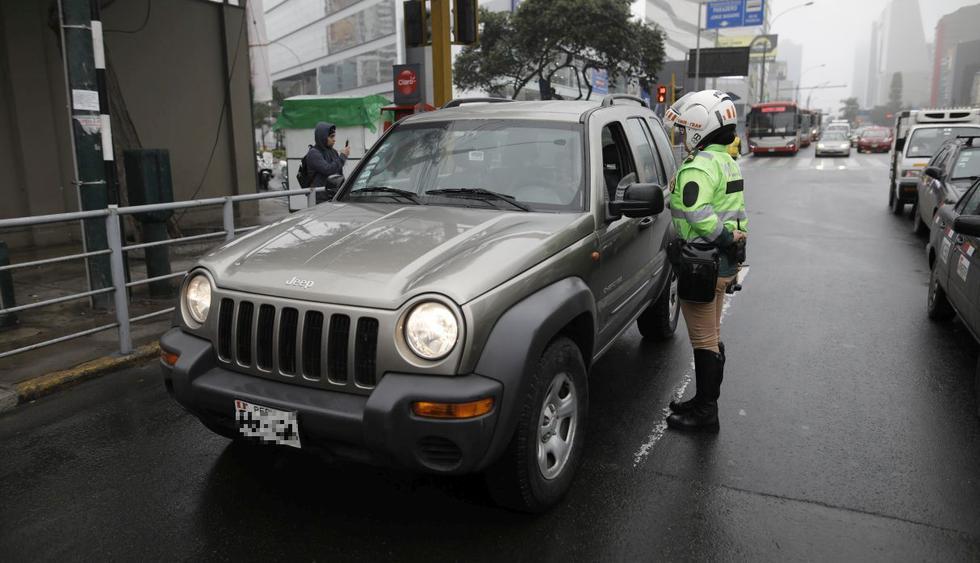 La circulación de autos particulares estará restringido el 24, 25, 31 de diciembre y el 1 de enero. (GEC)