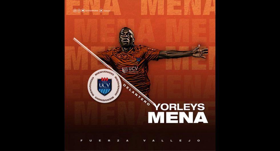 Yorleys Mena procedente de Real Cartagena de Colombia. (Foto: Twitter)
