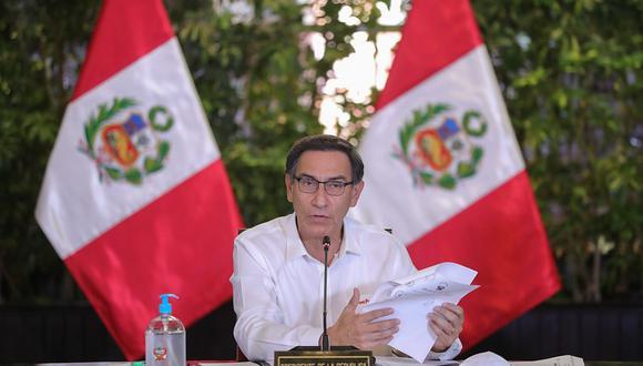Martín Vizcarra no brindará este vienres 15 de mayo para dar el nuevo balance sobre el avance del coronavirus en nuestro país. (Foto: Presidencia)