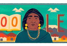 Dolores Cacuango: Google y su doodle por el 139 aniversario del nacimiento de la pionera de derechos civiles en Ecuador