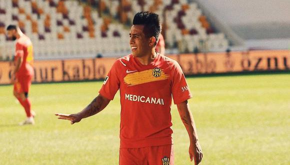 Christian Cueva se pronunció luego de ser separado del plantel de Yeni Malatyaspor. (Foto: Yeni Malatyaspor)