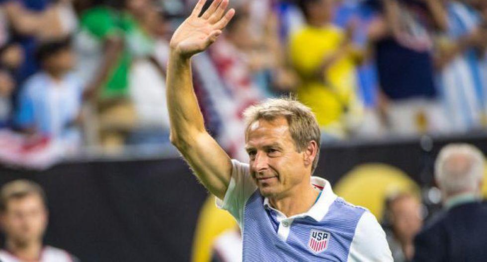 Jürgen Klinsmann fue destituido como técnico de Estados Unidos