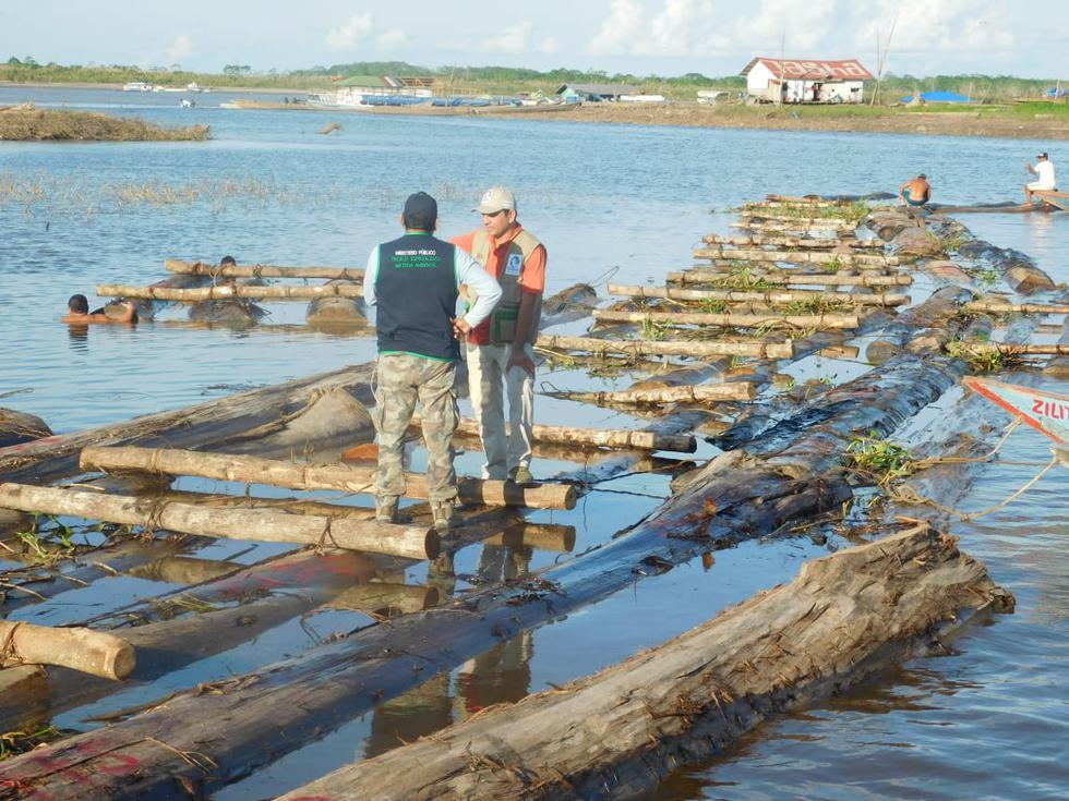 Ucayali: incautan S/300 mil en madera de presunto origen ilegal
