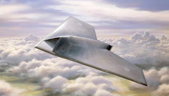 Este es el Taranis, el supersecreto drone británico