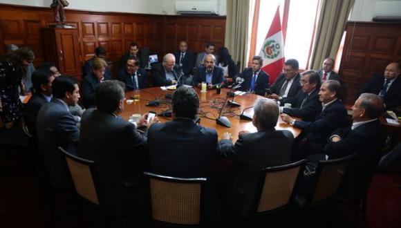 La Junta de Portavoces acordó aceptar la renuncia de PPK a la presidencia del Perú, pero también se expresó a favor de rechazar los términos expresados por el mandatario. (Foto: Congreso)