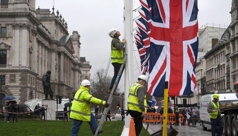 Las dos partes están exhaustas después de las peleas del Brexit y ninguna tiene demasiadas ganas de marcar el acontecimiento con gestos extravagantes. (EFE).