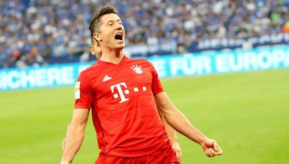 Robert Lewandowski, la figura estelar del Bayern Múnich. (Foto: AFP)