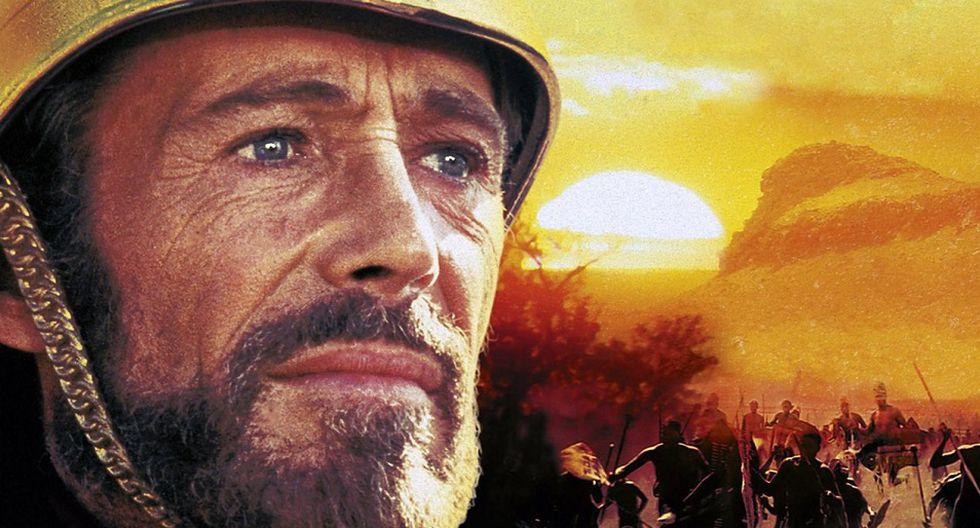 8. AMANECER ZULÚ (1979) Dirección: Douglas Hickox (Foto: Samarkand)