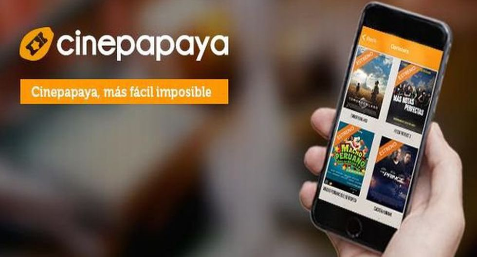 CinePapaya ya vende popcorn y gaseosas en cines peruanos