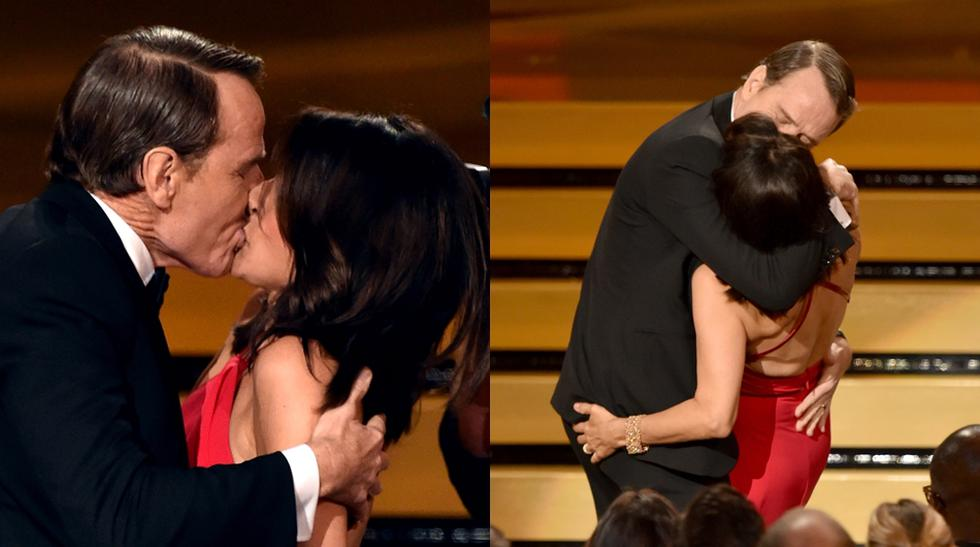 Pura pasión: 20 besos que sorprendieron en alguna premiación - 1