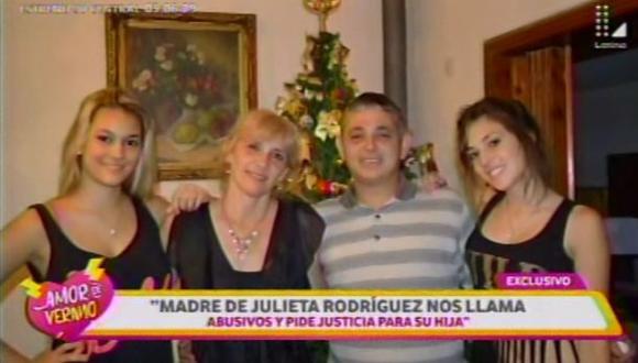 "Madre de Julieta Rodríguez: ""Mi hija está arrepentida"" [VIDEO]"
