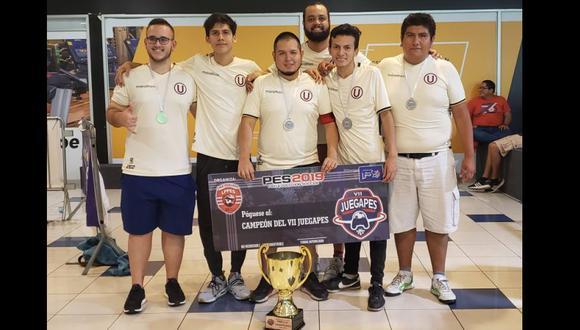 Universitario se coronó campeón del torneo de clanes del VII JUEGA PES. (Foto: Kraken PES)