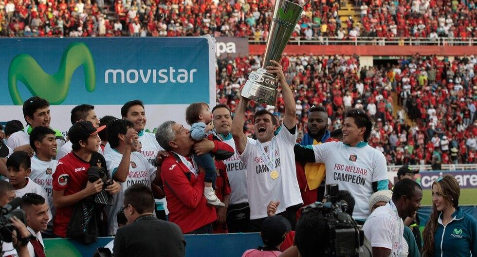 Melgar, en el año de su centenario, consiguió su segunda estrella en el fútbol nacional | Foto: GEC