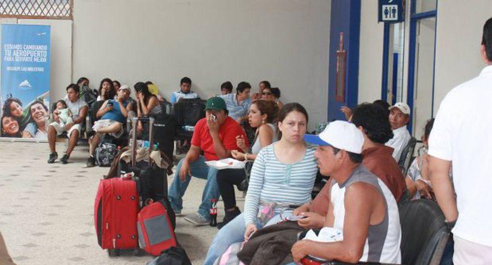 Puerto Maldonado: al menos 350 turistas varados en aeropuerto