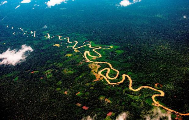 Los humedales en el Abanico del Pastaza forman el sitio Ramsar más grande de la Amazonía peruana. Foto: Gisella Valdivia Gonzalo.