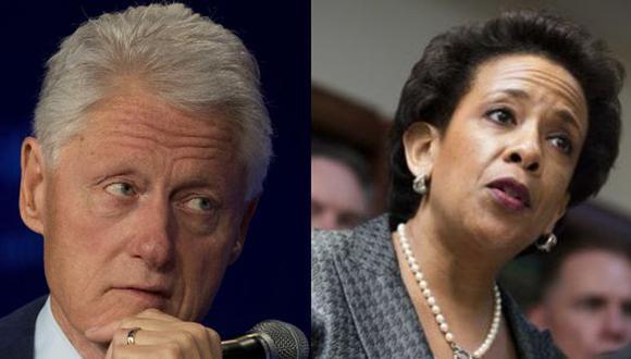 Critican encuentro de Clinton y fiscal que investiga a Hillary