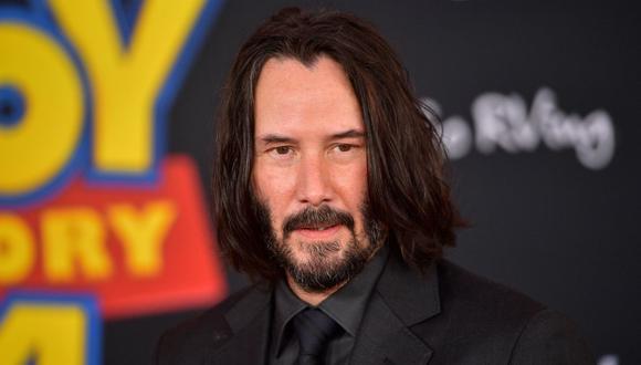Keanu Reeves estará en Uruguay grabando serie para Netflix. (Foto: AFP)