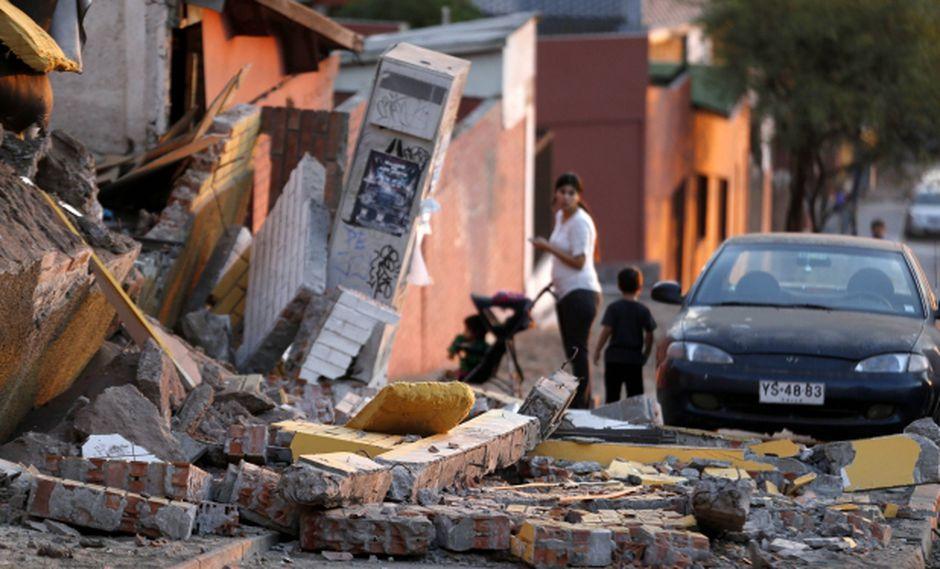 Chile registró un nuevo terremoto de 7,6 grados