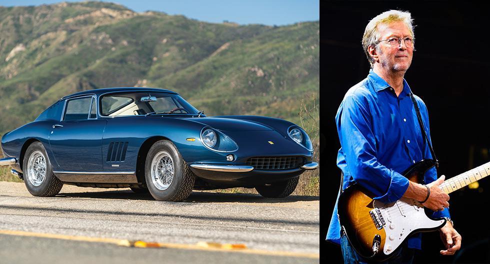 Conoce la colección de autos Ferrari que el guitarrista inglés Eric Clapton mantiene en casa. (Fotos: Difusión).