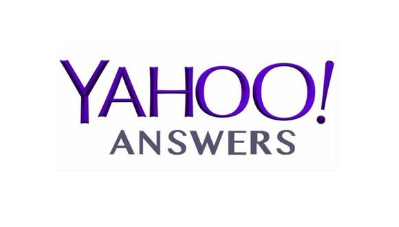 Logo de Yahoo! Answers. (Imagen: Yahoo)