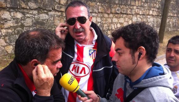 Hincha de Atlético fue a Lisboa pero olvidó entrada en España
