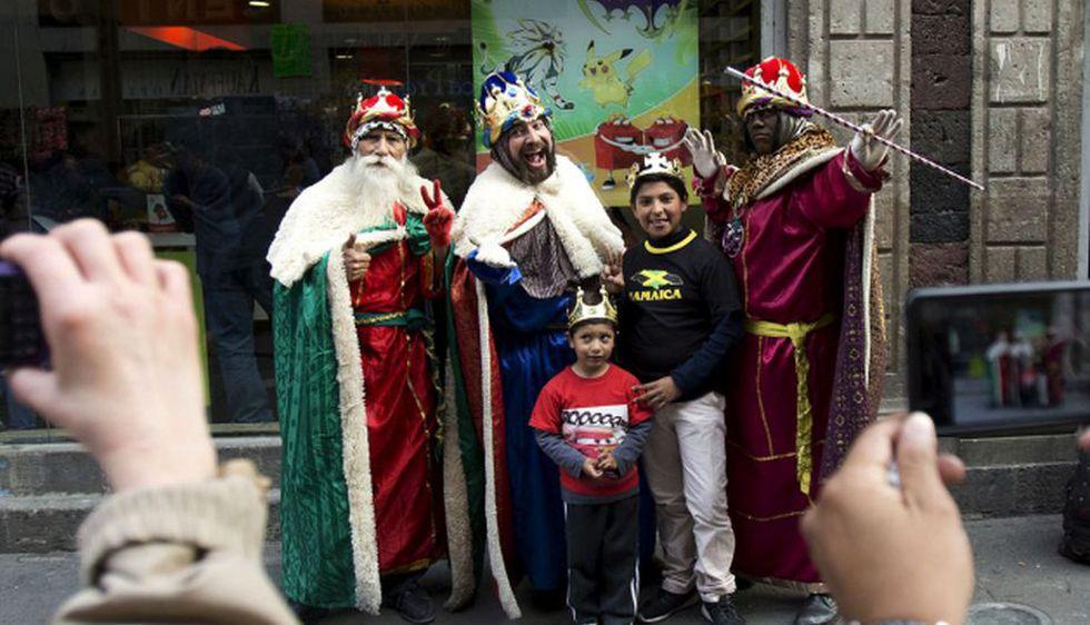 La historia de los Reyes Magos relaciona a los reyes como hombres poderosos, nobles y sabios. (Foto: AFP)