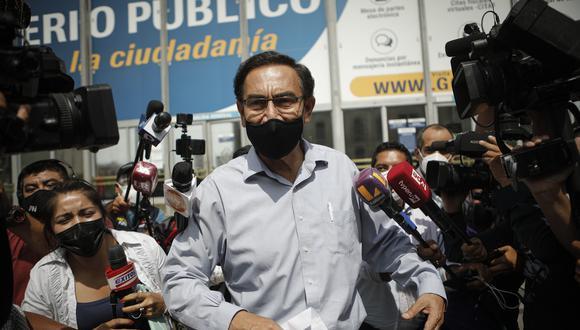 Vizcarra dijo que irá a la Corte IDH si el fallo no le favorece. (Foto: Joel Alonzo / GEC)