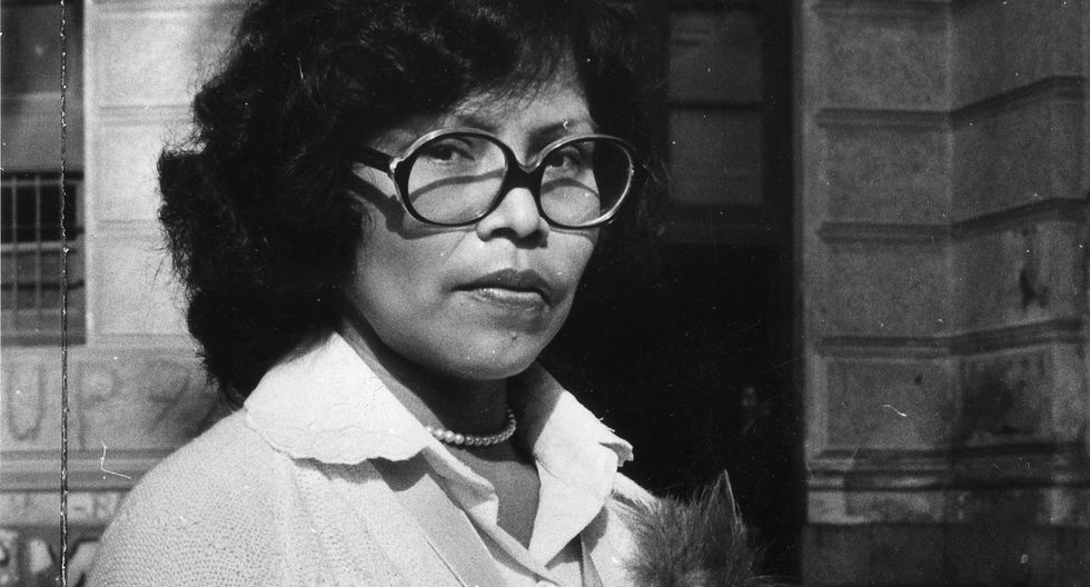 LICENIA HUARAQUI. Fue la primera mujer indígena, de la etnia Piro, en graduarse como médico cirujana en la Universidad San Marcos. Ocurrió en 1981. (Foto: El Comercio)