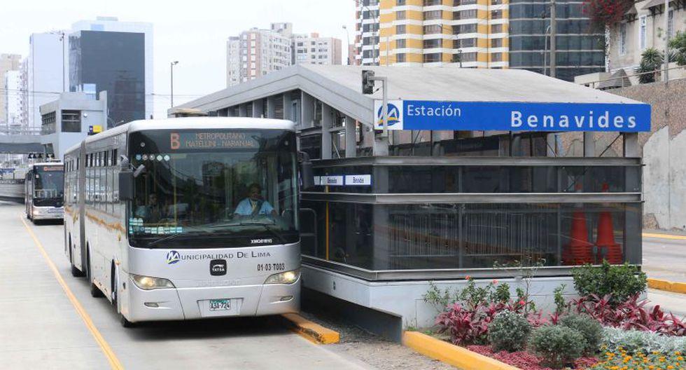 Municipalidad de Lima informó sobre las restricciones que habrá en el Metropolitano en Semana Santa.