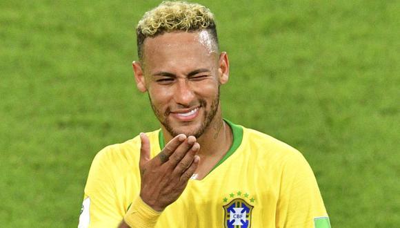 El último equipo de Neymar es el Paris Saint-Germain con el que fichó en 2017. (Foto: AFP)